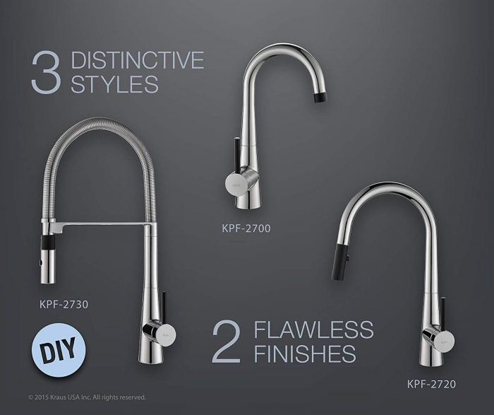 Top 10 Best Kraus Kitchen Faucets On The Market 2021 Reviews