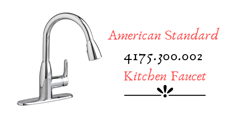 American Standard 4175.300.002 Kitchen Faucet