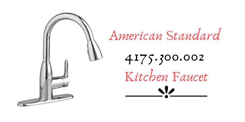 American Standard 4175.300.002 Kitchen Faucet