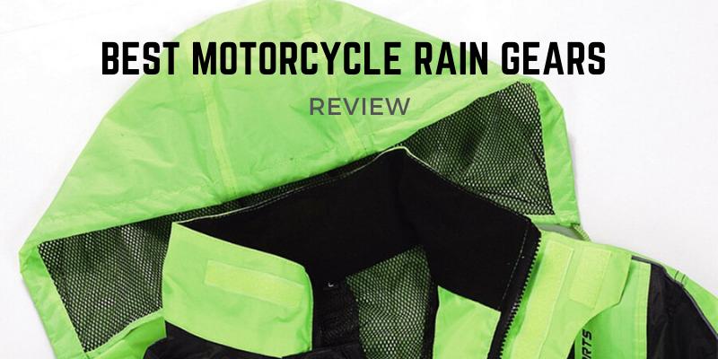 Best Motorcycle Rain Gears