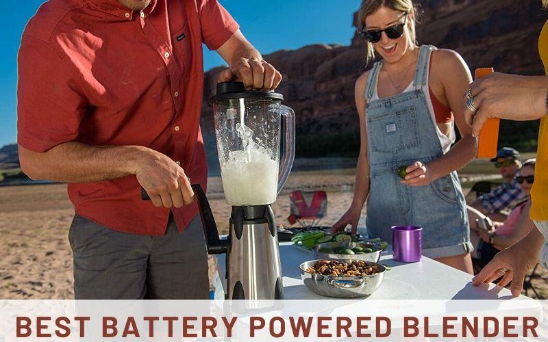 best battery powered blender