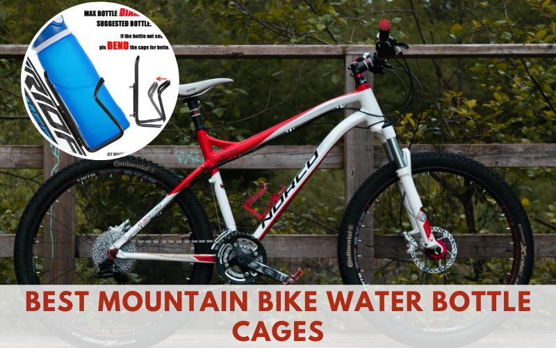Adjustable Mountain Bike Water Bottle Holder Bottle Cage Plastic Bicycle IF