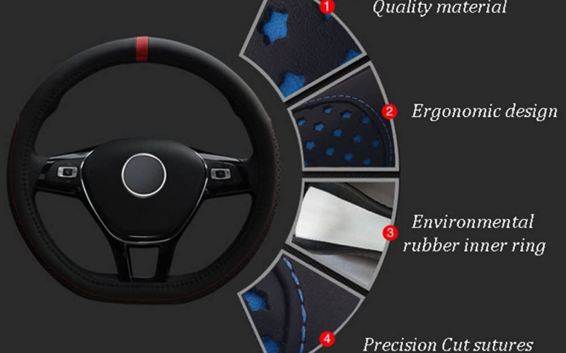 best leather steering wheel covers