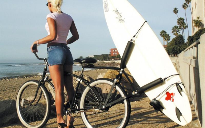 best surfboard bike rack